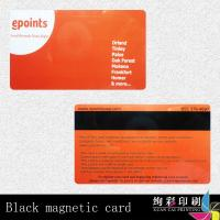 PVC Magnetic Stripe Cards HICO 2750OE Offset Printing Surface Manufactures
