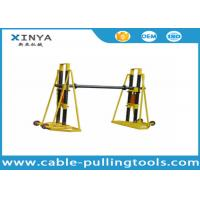 15T - 20T Cable Handling Equipment / Cable Drum Hydraulic Reel stand Manufactures
