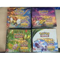 324pcs/lot English Pokemon Cards XY POKEMON Trading Cards Toys for children Manufactures