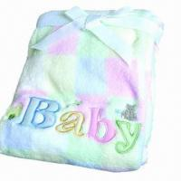 Buy cheap Soft Baby Fleece Blanket, Weighs 220 to 350gsm from wholesalers