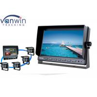 10 inches Quad Stand alone Vehicle  LCD Monitor Screen  for Vehicle Security System Manufactures