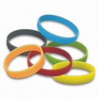 Printed Silicone Bracelet(JS-702) Manufactures
