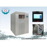 Rectangular Single Ended Construction Large Steam Sterilizer With Visually And Audibly Alarm Manufactures
