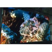 1/16 scan 4mm Video Wall Indoor Fixed LED Display panels Stainless Steel Cabinet