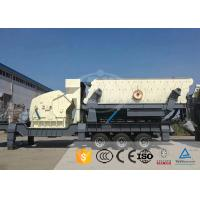 Portable Mobile Stone Crusher Plant High Manganese Steel Fast Crushing Ratio for sale