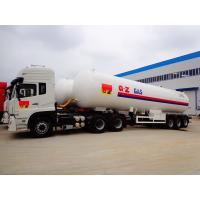 25 Tons LPG Gas Tanker Truck Trailer 25MT With Dongfeng Tractor Head Manufactures