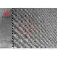 China Interlock Sportswear Material Weft Knitted Fabric Grey Twill Fabric Anti - Static on sale