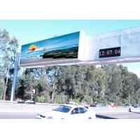 High Definition LED Street Display , Front Service LED Display For Highways Manufactures