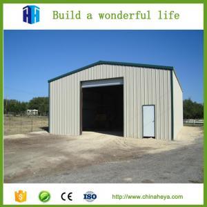 Steel storage building ready made warehouse sandwich panel garage
