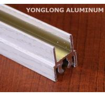 White Wardrobe Aluminium Profile For Cabinets Rectangular Shape Manufactures