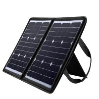 China Laptop solar powered usb charger , 50W Solar Panel Mobile Charger 18 Volt on sale