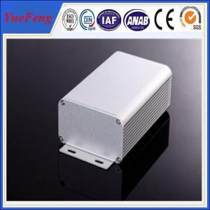 Quality 80*45*MM ALUMINUM EXTRUSION ELECTRONIC COMPONENT ENCLOSURE ANODIZING ALUMINIUM for sale