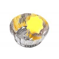 Collapsible Stainless Steel Steamer Basket For Pressure Cooker Vegetable Food Cooking Manufactures