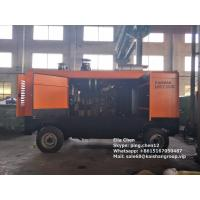 Diesel Type 35 Bar 33m3 High Pressure Screw Air Compressor For Water Well Drilling Rig Manufactures