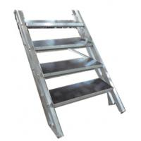 Lightweight Economic Aluminum Portable Stage Stairs For Events / Party / Show Manufactures