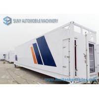 China 64000 L Mobile Refuel Station Container Oil Tank Trailer 40HQ Oil Storage Tank Container on sale