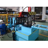Automatic Change Size CZ Purlin Roll Forming Machine For Making Steel Frame House Manufactures