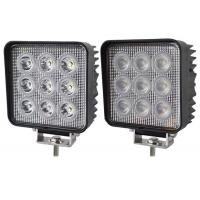 China 12V Driving off road Car Lighting System 27W Led Work Lights For truck and trailer on sale