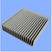 Silver Mill Finished Aluminum Heatsink Extrusion Profiles  Manufactures