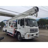 Man Lift Hydraulic Aerial Work Platform Truck With  360° 5.7m Max Operation Radius Manufactures