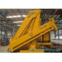 Large XCMG / SUNY 6.3 Ton Truck Mounted Crane With Folding Arm Manufactures