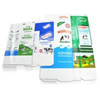 China Hot Filling Microwave Gable Top Cartons Aseptic Packaging Material For Milk Juice on sale