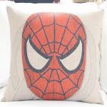 Super hero american film theme cushion,custom print cotton linen cushion Manufactures