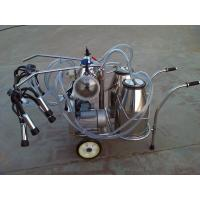 XD32B2  Twin Buckets and Vacuum Pump Electric motor-driven mobile  milking machine Manufactures