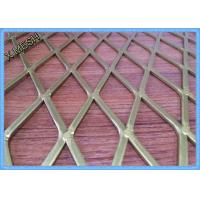 Perforated Aluminium Expanded Metal Mesh Screen Anodized Finish Surface Decorative Manufactures