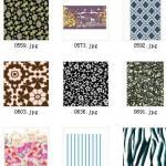 Printed cotton stretch poplin Manufactures