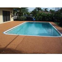 Sports Field Rubber Flooring Around Pools 100% EPDM Fragmented Crumb Raw Material Manufactures