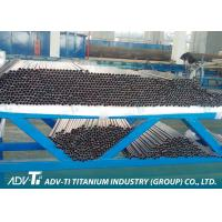 ASTM B862 Welding Titanium Pipe , Alloy Grade 9 Welding Exhaust Tube Manufactures