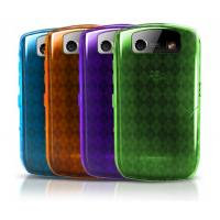 China Red Aluminum Silicone Case for Blackberry Curve 8520 on sale