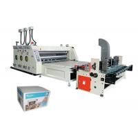 Flexo Printing Machine Automatic Feeding Printing and Slotting Machine Manufactures