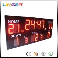 Wireless Control Germany / American Electronic Soccer / Football Scoreboard Manufactures