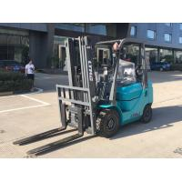 Dual Fuel LPG Forklift Truck 1.5 Ton Container Lifting Equipment For Docks Manufactures