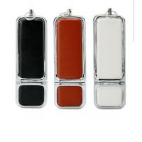 Personalized Leather USB Flash Drive Promotional Gift   2GB 4GB 8GB Customized Manufactures