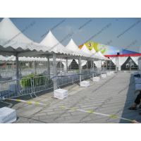 Transparent Luxury High Peak Tents , Mini Pagoda Canopy With PVC Windows / Sidewalls Manufactures