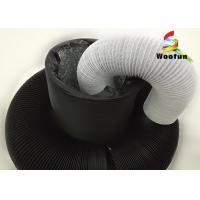 Quality Aeration System Fire Rated Flexible Ducting , Collapsible PVC Aluminum Ventilation Air Duct for sale