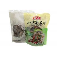 China Brown Paper Tea Laminated Packaging Bags / Stand Up Pouch Bags Customized Printed on sale