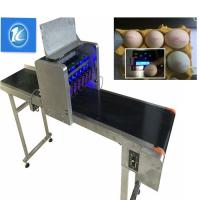 Buy cheap Free Upgrade Egg Jet Batch Coding Machine Can Print All The Words And Fonts from wholesalers