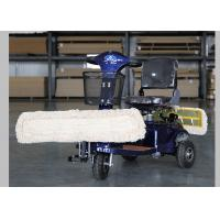 OEM / ODM Driving Mop Dust Cart Electric Scooters With Three Wheels CE Manufactures
