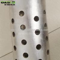 9 5/8 Perforated Steel Pipe for Well Drilling or Filtering Manufactures