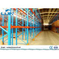 Heavy Duty Selective Pallet Racking System Customized Beam Length Manufactures