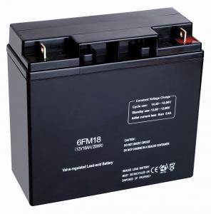 SLA Backup Sealed Maintenance Free Lead Acid Battery 12v 18ah for Power Plant UPS Manufactures