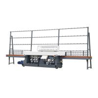 China Automatic Linear Glass Edge Grinding Machine For Glass Fine Polishing 19.45KW on sale