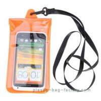 Soft PVC Waterproof Pouch Bag Colorful Cover Guaranteed Submersible To 19ft / 6m Manufactures