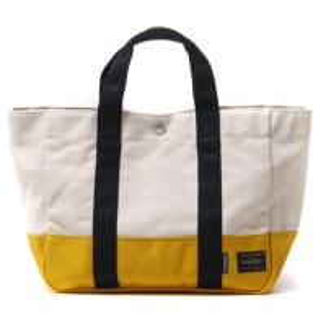 White Monogrammed Custom Canvas Tote BagsFor Ladies 46 * 36 * 10 cm Manufactures