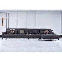 China Living Room Sofa Home Furniture Latest New Design Couch L Sofa Set  AW-ES18-1809 on sale