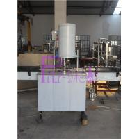 Industrial Can Filling Line , Juice Tin Can Washer Rinser Machine Manufactures